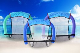 Wholesale Child Chairs - Multi Colors Water Swimming Pool Seats Portable Chair Pool Chair Floating Pool Bed Water Supplies For Children Adults Women +B