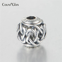 Wholesale Pandora Friendship Charm - New Original 925 Sterling Silver Bead Essence Collection Friendship Charm Beads Fits Pandora Essence Charms Bracelet DIY Jewerly