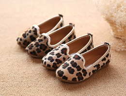 Wholesale Girls Dresses Leopard Fashion Kids - Newest Girls Shoes Children Fashion Princess Shoes Kids Leopard Shoes In Size 21-36 Children Sneakers 5p l free shipping