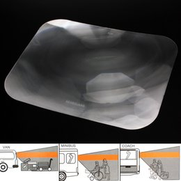 Wholesale Wide Angle Fresnel - Wide Angle Fresnel Lens Auto Car Parking Reversing Sticker Rear Windshield Useful Enlarge View Angle Optical Fresnel Lens CEA_304