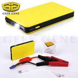 Wholesale Function Jump - Wholesale-Hot Multi-Function 12V Car Jump Starter Emergency Starter Battery Charger Laptop Mobile Phone Power Bank For Up To 3.0L Engine