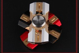 Wholesale Generation Armor - Fidget Spinner the third generation of Caesar's armor adult EDC bearing the dream space toy