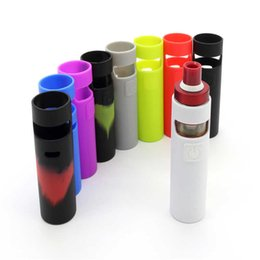 ego starter kit tasche Rabatt Ego Aio D22 Bunte Silikonhülle Staubdicht Gummihülle Schutzhülle Haut Wrap Tasche Für eGo Aio D22 Batterie Starter Kit Vaporizer
