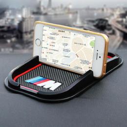 Tappetino per auto antiscivolo Supporto GPS Adesivo per BMW M M3 M5 E6 E30 E34 F10 F15 F30 X1 X3 X5 X6 E36 cheap slip mat for phone da tappetino per telefono fornitori