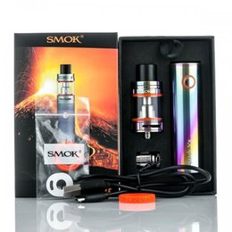 Wholesale Gold Filled Baby - Hot Selliing SMOK Stick V8 Kits with 3000mAh Battery 3ml Top Filling Airflow Control TFV8 Baby Tank Atomizer
