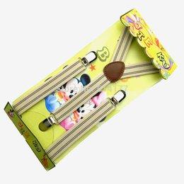 Wholesale Elastic Straps Braces Suspenders - Wholesale-2016 kids suspenders children 3clips braces Elastic straps baby suspensorio tirantes Width 2.0cm Length 65cm