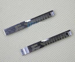 Leere schlüssel chrysler online-10 stücke Original Gravierte Linie Schlüssel für Benz Chrysler 2 in 1 LiShi HU64 Skala Scheren Zähne blank autoschlüssel Bauschlosserwerkzeuge