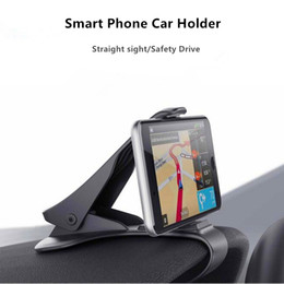 Wholesale car holder for iphone 4s - Universal Smart Phone Car Bracket Mount Holder Stands HUD Style for Iphone 4s iphone5 Samsung Smartphone Gps Navigation