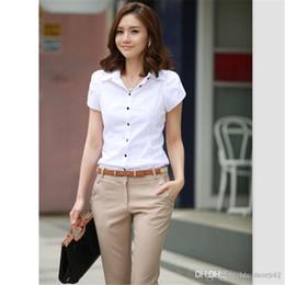 Wholesale Lady Formal Women Suit - Hot Sale Free shipping summer women's suit OL Formal Pants Office Ladies ' Work Solid Trendy Trouser