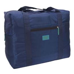 Wholesale Lightweight Duffel Bags - New Style Fashion Sports Travel Duffel Bag Large Capacity Bag Women Canvas Folding Bag Women Luggage Travel Handbags Lightweight SNB009