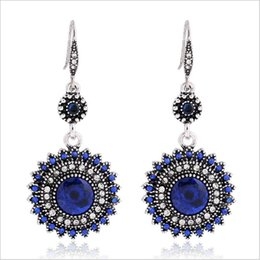Wholesale Unique National - 2017 New design earrings retro European and American Bohemian national wind earrings sun flower earrings Fashion Unique style in Africa