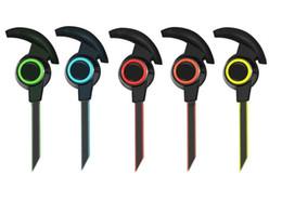 Wholesale Ear Plugs Bluetooth - AMW-810 Bluetooth sports Bluetooth headset In-Ear Stereo binaural plug type universal mobile phone Bluetooth protocol 4