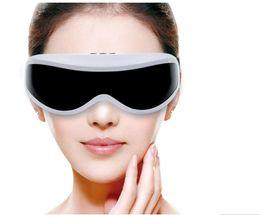 Wholesale Head Eyes Massager - Free Shipping Electric eye mask eye Massager glasses machine device Massor ergonomic vibrator magnetic wrinkle vision head eye care massager