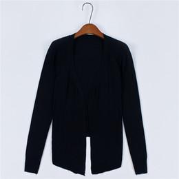 Wholesale Joker Clothing Women - Wholesale-2016 Women Shawl Sweater Sunscreen Clothing Fashionable Joker Cardigan Crochet Knit Sweater
