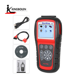 Wholesale Toyota Diagnostic Scan Tools - Autel MD805 Maxidiag Elite Full System and Live Data Multifunctional Scan Tool OLS EPB Reset Function New Generation of MD802 All system