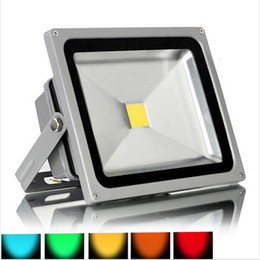 Wholesale Led Red Outdoor Flood Light - Waterproof LED 10W 20W 30W 50W Landscape Led Foodlight Warm white Cool white Red Green Blue Yellow Flood light Outdoor Light Wall Wash Light