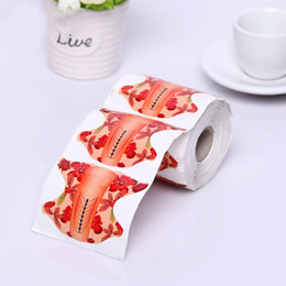 Wholesale Nails Acrylic Adhesive - Wholesale- 100pcs roll Oval Shape Adhesive Nail Form for Acrylic UV Gel Nail Extension Tips Manicure Tool