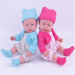 Wholesale Novelty Cloth - 41cm Newborn empty Body Silicone Bebe Doll Reborn 16 Inch Vinyl Realistic Collectible Doll Reborn Babydoll for kids