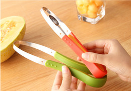Wholesale ice cream scoop plastic - Multifunctional Stainless Steel Ball Dug Fruit Ice Cream Spoon Melon Baller Scoops Fruit Peeler Zester Household Kitchen Tools 3Pcs Set