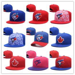 Wholesale Toronto Blue Jays Hats Cheap - New Hot Toronto Adjustable Blue Jays Snapback Hat Thousands Snap Back Hat For Men Basketball Cap Cheap Hat Adjustable men women Baseball Cap