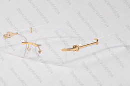 gafas de sol militares ess Rebajas Gafas de sol de madera de la marca de la vendimia del negro de la vendimia de Brown lentes transparentes del diseñador Gafas de cuerno de búfalo de la armadura de bambú gafas de sol de Lunettes