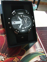 Wholesale Like Watches - sell like hot cakes new 2017 DZ Men's luxury brand quartz watch Fashion watch Japanese quartz clock 5.0 stainless steel dial Multi-time zone