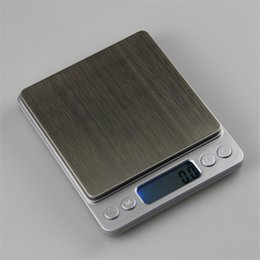 Wholesale Scale 2kg - 2000g x 0.1g Digital Pocket Scale 2kg 0.1 Jewelry scales electronic kitchen weight Scale