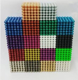 Wholesale Metal Puzzle Toy - Magnetic ball 5mm buckyballs for Adult Relax de-stress Cool Toys Magic Cube for Gift and Puzzle