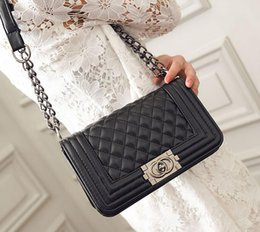 Wholesale Handbag Quilted Bag Lambskin Leather - fashion Famous Designers women's Quilted Double Flaps Lambskin Chains Shoulder Bags women Leather Handbag messenger Bag totes Crossbody Bags