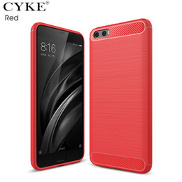 Wholesale a1 covers - For Xiaomi Mi 6 A1 5s plus Carbon Fiber Brushed Phone Cases Soft Silicon TPU Protective Case For Xiaomi mi max 2 Covers