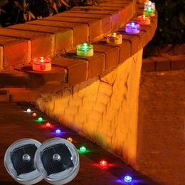 Wholesale Traffic Lamps - Wholesale- Waterproof outdoor traffic solar Led lights underground lamp household courtyard lamp Light Steady mode