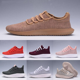 Wholesale White Shadow Box - [with box] Tubular Shadow 3D Running Shoes Knit Core Triple Black White Cardboard Women Men runner 350 Boost Sports Sneaker us 5-11