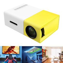 Wholesale International Digital - LED LCD Mini Portable LED Projector with USB SD AV HDMI Input - International Version White yellow led Pocket Projector