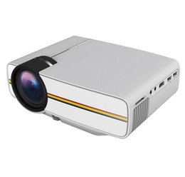 Wholesale Mini Movie Projectors - Original YG300 Upgrade YG400 Mini Projector For Video Games TV Beamer Project Home Theatre Movie AC3 HDMI VGA AV SD USB YG-400