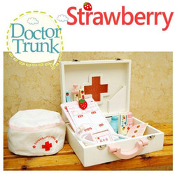 Wholesale Toy Nurse Kits - child medical kit doctor nurse toys kids role play pretend play doctor play set classic toys simulation hospital