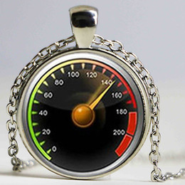 Wholesale Car Wheels China - Vintage style luxury cars steering wheel necklace geeky perfect gift creative car jewelry drivers favorite pendant gift