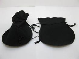 Livraison Gratuite 50Pcs par lot Velvet Cordon Cadeau Bijoux Pochettes Bijoux Sacs Gif Sac D'emballage Sac 10x12cm Rouge / Noir / Bleu ? partir de fabricateur
