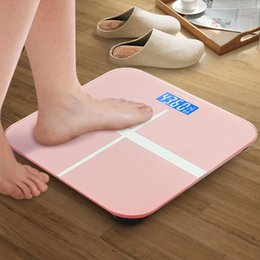 Wholesale Weigh Scales Digital - Wholesale Original Smart Weighing Scale Support Android 4.4 iOS 7.0 Bluetooth4.0 Losing Weight Digital Scale White
