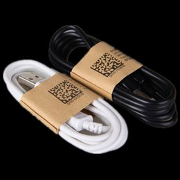 Wholesale S3 Usb - White black 1m 3FT Micro V8 5pin usb data sync charger cable for Samsung galaxy s3 s4 s6