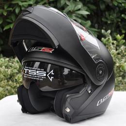 Wholesale Helmet Double D - New helmet motocross helmet motorcycle LS2 helmet double lens LS2 FF370 latest version have bag 100% Genuine LS2 FF370,Capacete