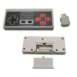 Wholesale Ps4 Consoles - 2017 New Mini Wireless Gamepad Joystick Handle Controller for Classic NES Console for Mini NES Game Gaming Retro