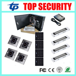 Wholesale Full Door Locks - ZK C3-400 door access control panel with free software 4 doors full access control system with 280KG magnetic lock
