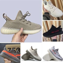 Wholesale Point Socks - With Socks SPY 350 V2 V3 boost CP9366 triple white Zebra UV light Kanye west sneakers Men Women Running Shoes