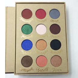 Wholesale Natural Story - 12 Shades Magic Story Book Eyeshadow Palette Highlighter Makekup Shimmer Easy to Wear Eye Shadow Kit