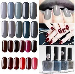 Wholesale Cheap Nail Paints - Wholesale-Multi-colored Matte Nailpolish Fashion Cheap Brand Gray Paint Quickly Dry Gel Polish Vanish Lacquer Nails Beauty