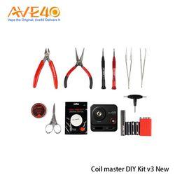 Kit de herramienta más nuevo de la bobina maestra DIY V3 nueva herramienta actualizada V3 con 521 Mini Tab II para Vape 100% original desde fabricantes