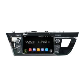 Wholesale Double Din Car Radio Rds - Android 5.1 Double Din Car DVD Player for LEVIN 2014 with DVD GPS Radio and RDS Built-in WIFI Bluetooth Capacitive touch screen