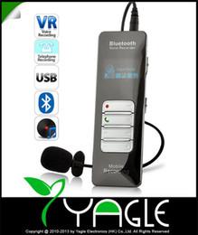 Enregistreur vocal bluetooth sans fil en Ligne-Enregistreur d'appels vocaux sans fil Bluetooth de qualité professionnelle en gros de 8 Go pour lecteur portable MP3 avec enregistreur vocal numérique USB