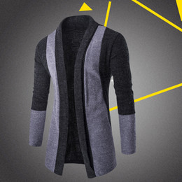 Wholesale Thin Jackets For Sale - 2017 Sale Fashion Men Cardigan Stylish Fashion Knitted Cardigan Men's Jacket Slim Long Sleeve Casual Sweater Coat For Male
