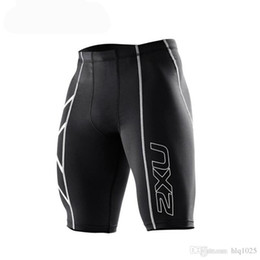 Wholesale Fashion Cycling Shorts - Hot Men fashion shorts Men's Compression Tights Shorts Bermuda Masculina Men Short Pants for Cycling Running Gym Stadium